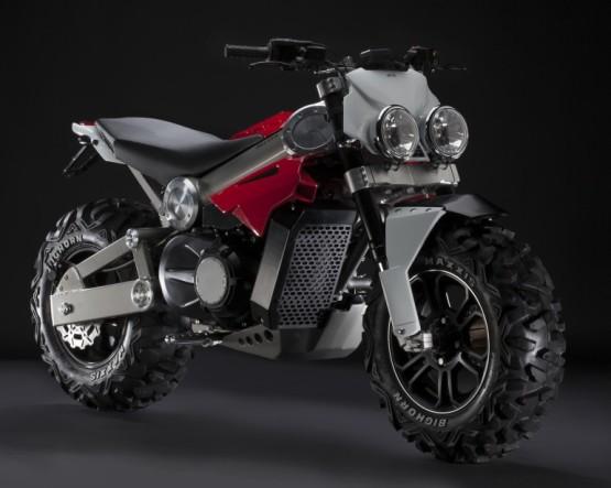 Brutus Suv Motorcycle Designed by former Lambretta designer and Italjet Alessandro Tartarini.