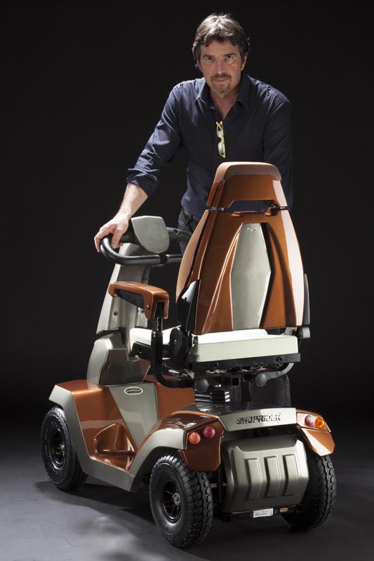 Shoprider alessandro tartarini design made in Italy